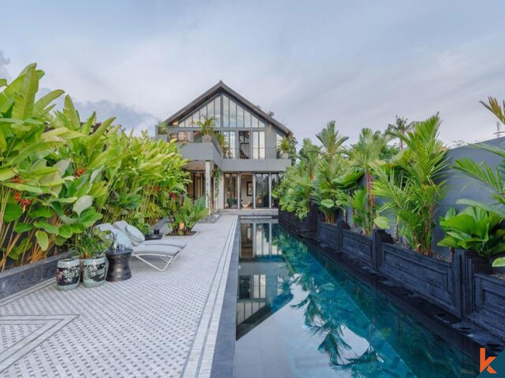Art Deco Inspired Leasehold Property in Canggu for Sale