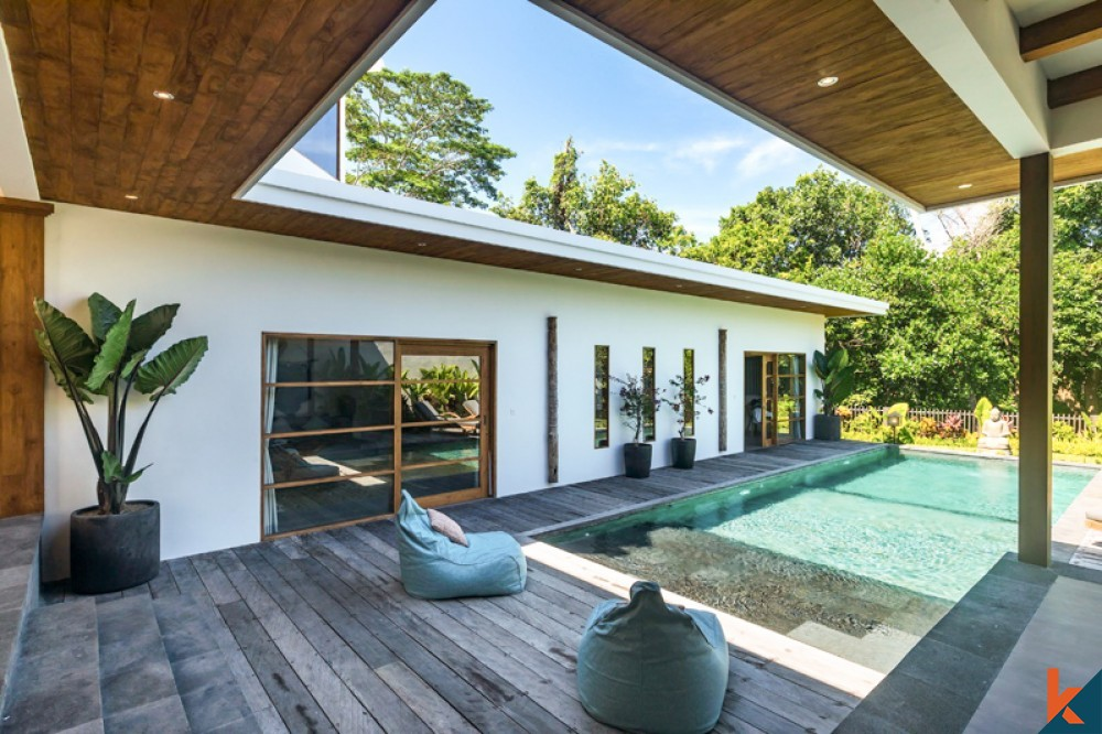 Brand New Three Bedrooms Villa With Amazing View for Sale in Canggu