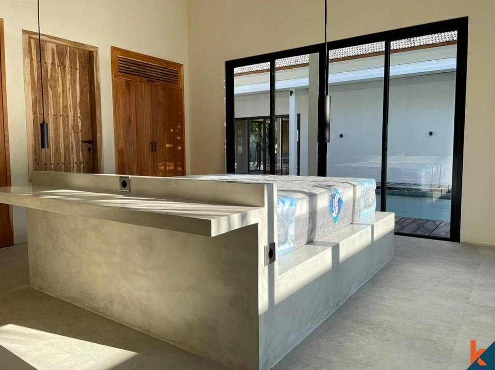 Modern Off Plan 3 Bedroom Leasehold Villa in Pererenan for Sale