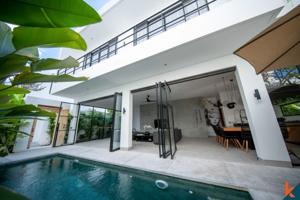Upcoming Modern Three Bedrooms Project Villa for Sale in Umalas