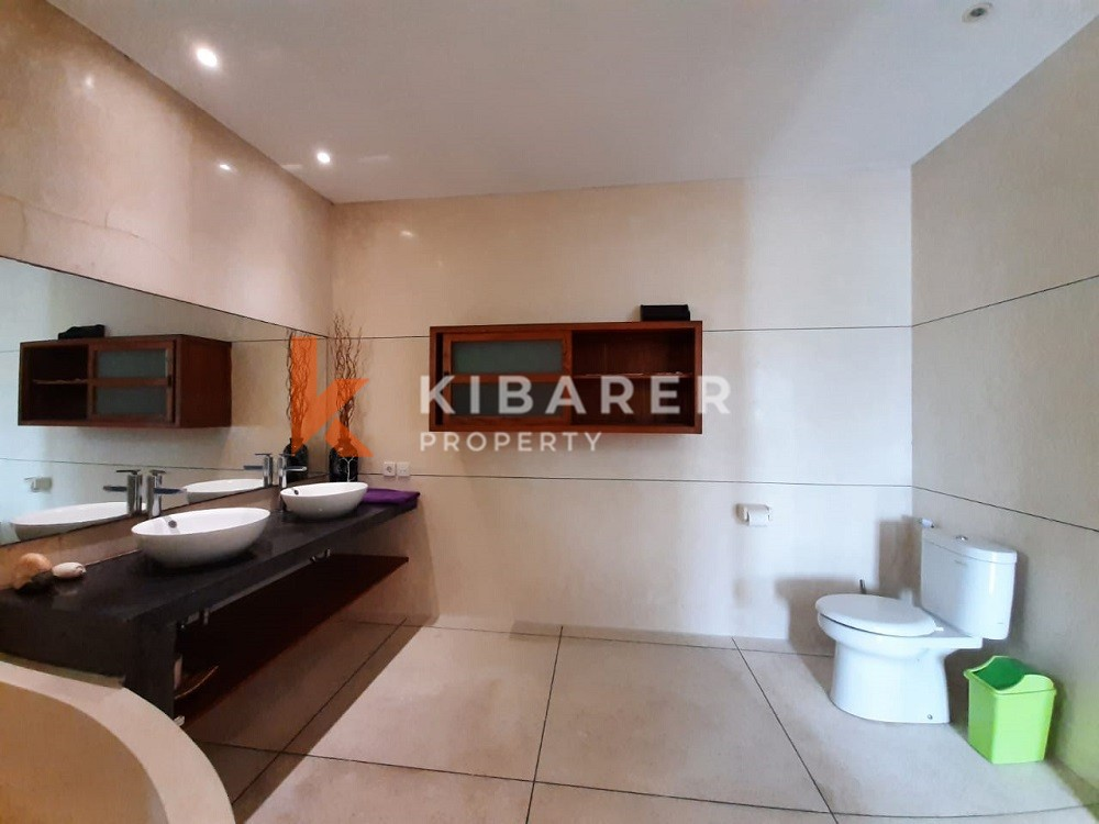 Complex Three Bedroom Villa located in best location of Berawa