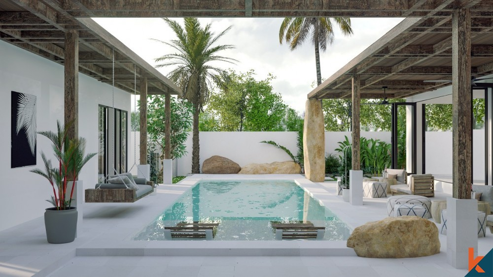 Charmante villa sur plan de 4 chambres à Canggu à vendre
