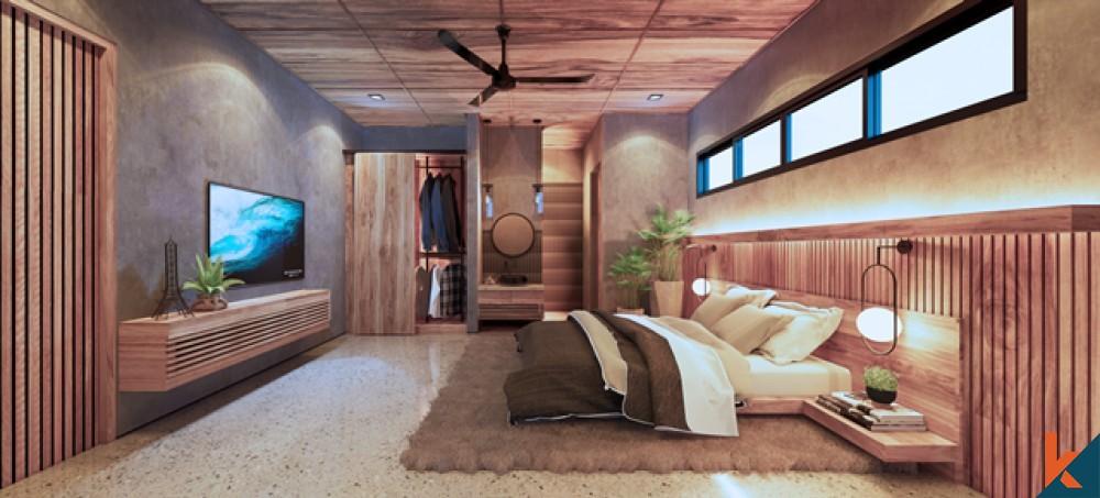 Townhouse Mewah Baru Off Plan 3 Kamar Tidur Dijual di Pererenan