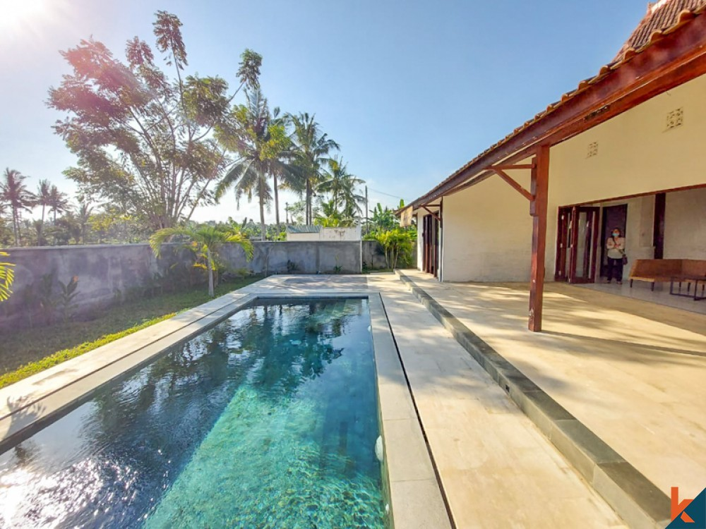 Brand New Two Bedrooms Villa for Sale in Ubud