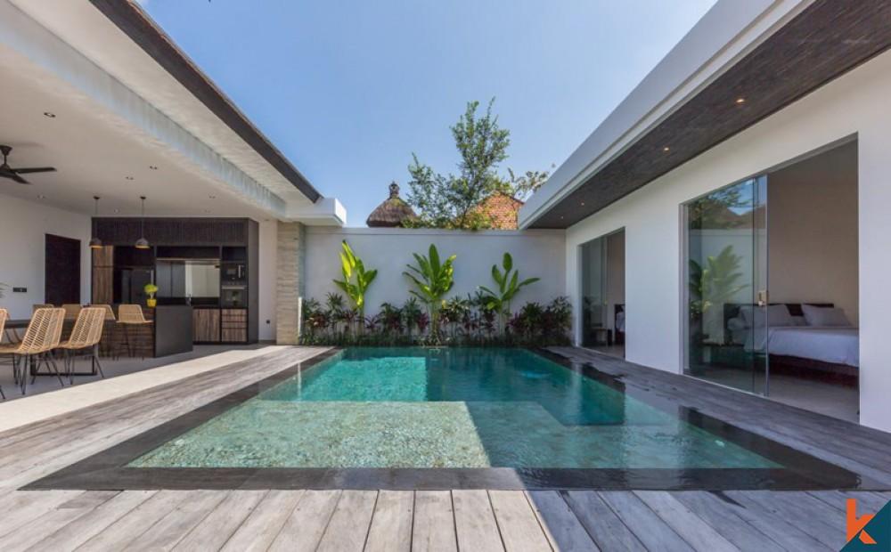 Villa Baru dengan Tiga Kamar Tidur Dijual di Jantung Berawa