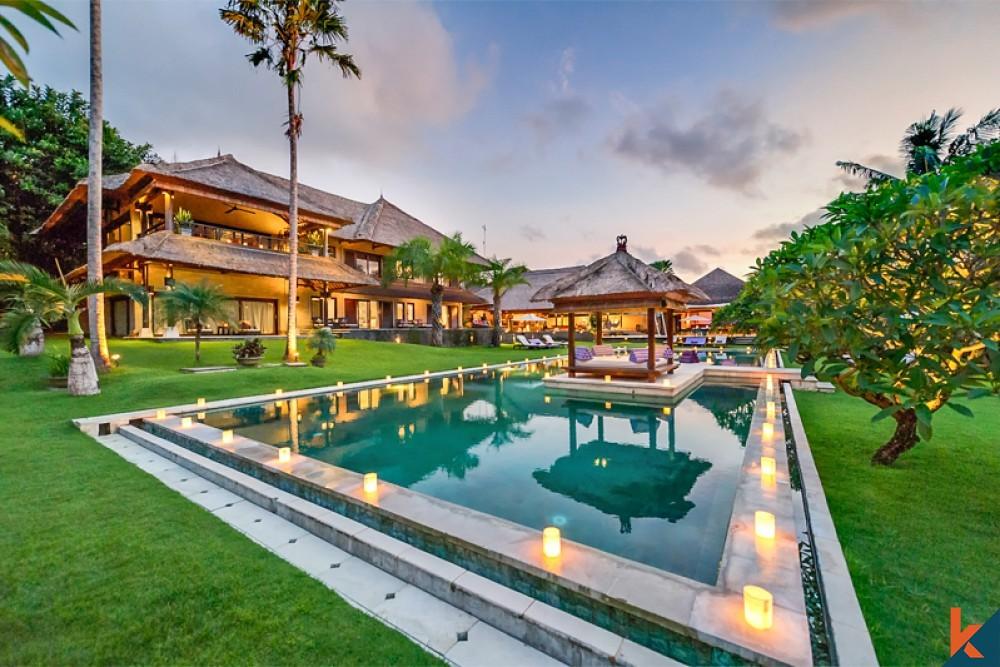 Dijual Estate Tepi Sungai Luas yang Menakjubkan Dekat Pantai di Pererenan