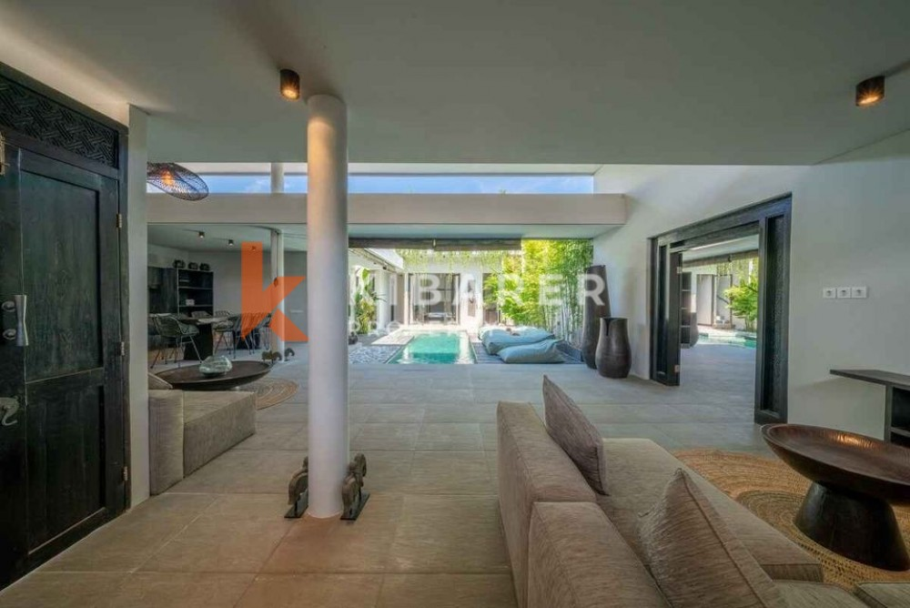 Modern and Tastefully Decorated Four Bedroom Villa perfectly located in the center of Berawa