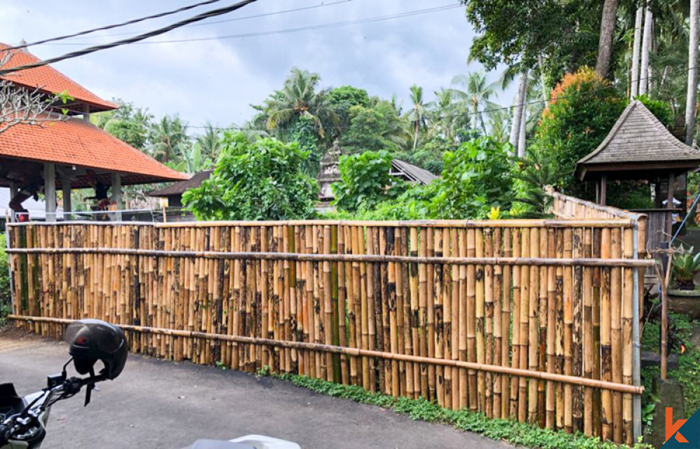 Freehold Land Close To The River for Sale in Ubud