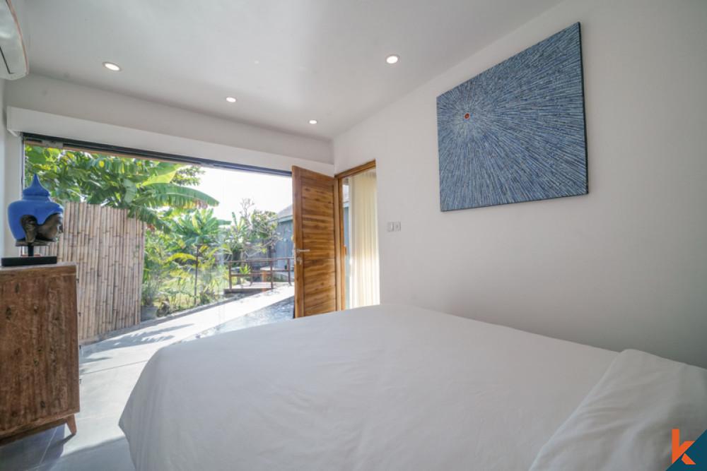 Dijual Villa Dua Kamar Tidur Bergaya Cantik di Kerobokan