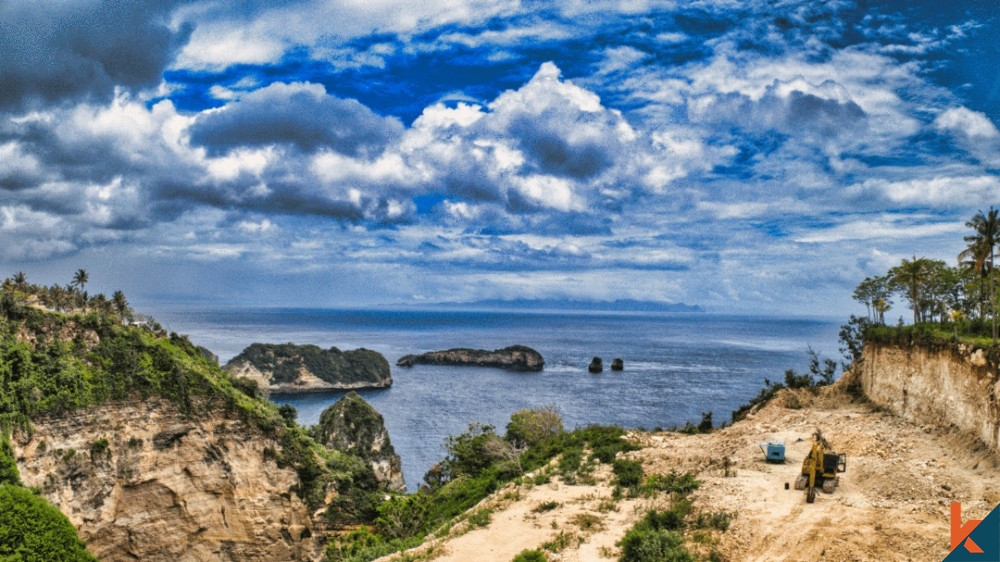 Amazing Cliff Top Land in Nusa Penida for Sale