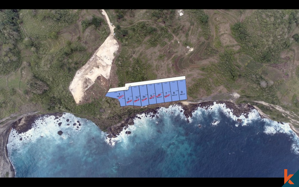 6.48 Are Tanah dengan Pemandangan Menakjubkan di Nusa Penida Dijual