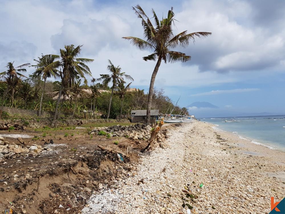 Tanah Tepi Pantai Menakjubkan 17 Are di Nusa Penida Dijual