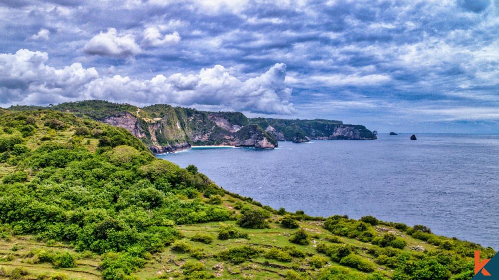 Kavling Fantastis dengan Pemandangan Pantai Kelingking Dijual