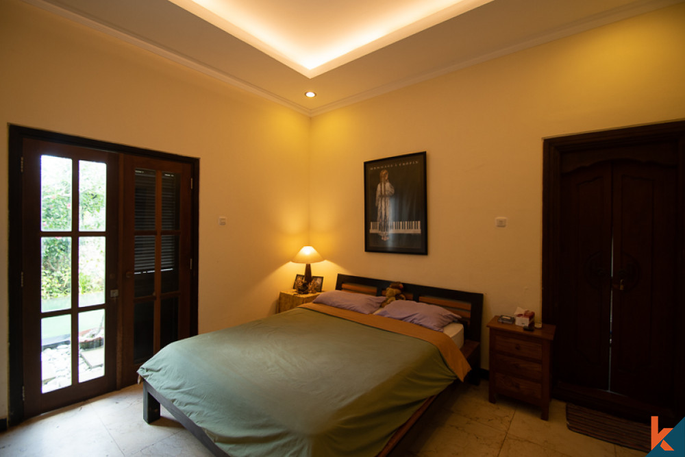 Dijual Villa Sawah Tiga Kamar Tidur di Canggu