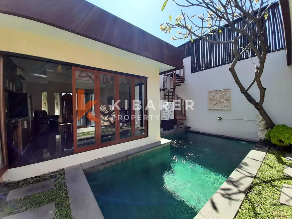 Vila Dua Kamar Tidur yang indah menawarkan area yang tenang di Sanur