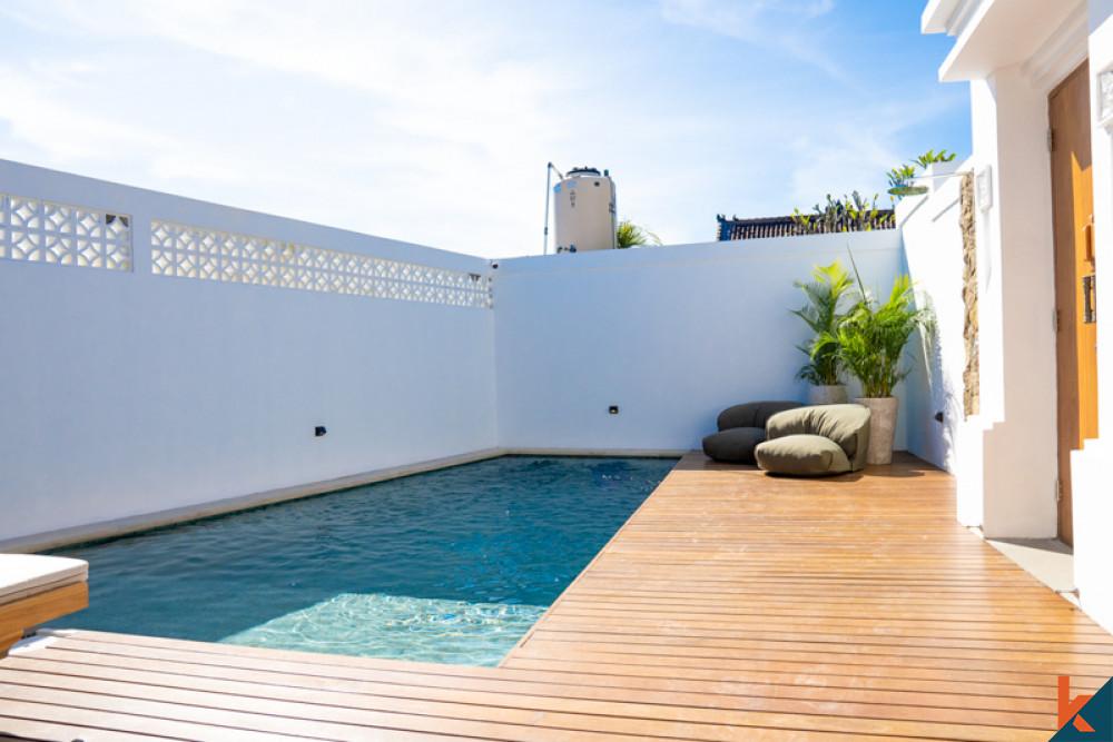 Joglo Style Villa Dijual Berjalan kaki ke Pantai di Pererenan