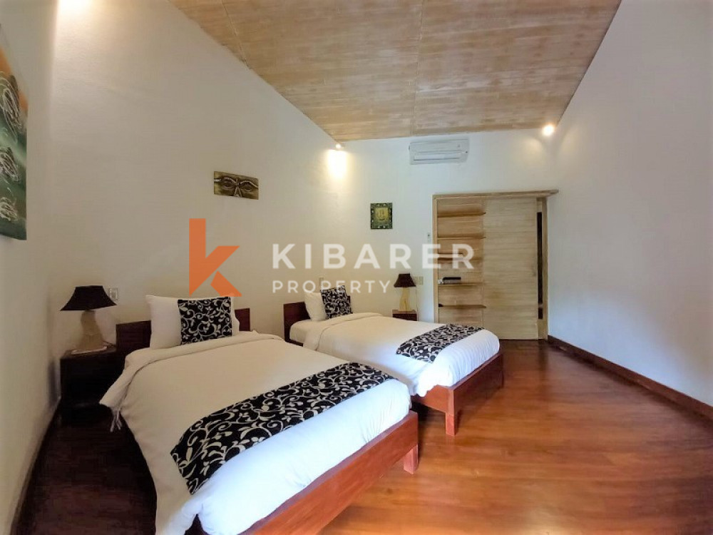 Beautiful Three+One Bedrooms Villa In Seminyak Area