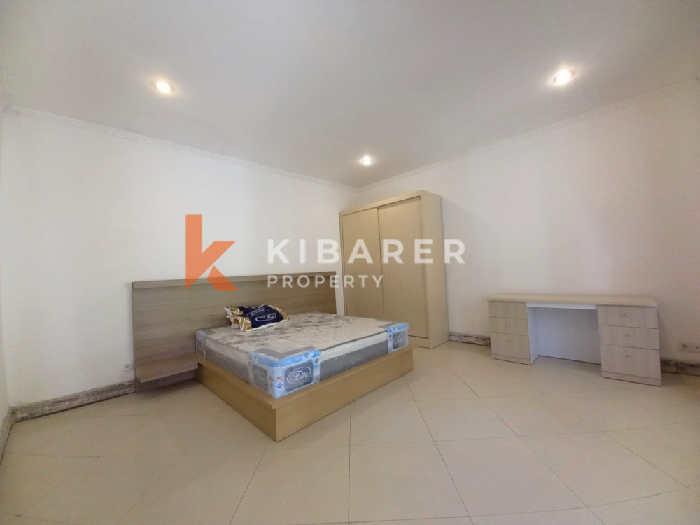 beautiful two bedroom semi furnished villa in kerobokan