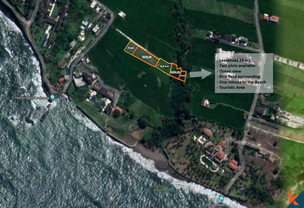Leasehold membuka pantai baru di Cemagi