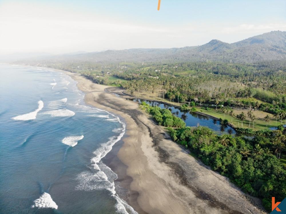 Dijual Tanah Tepi Pantai Tropis Menakjubkan di Balian