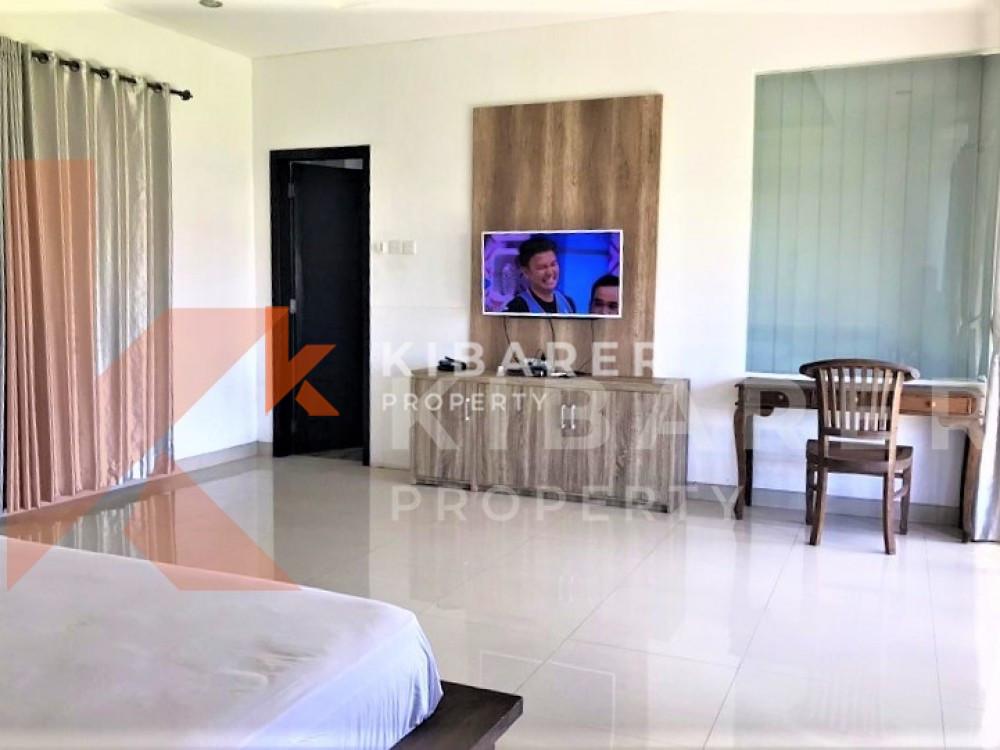 Beautiful Three Bedrooms Villa With Rice Field View in Kerobokan