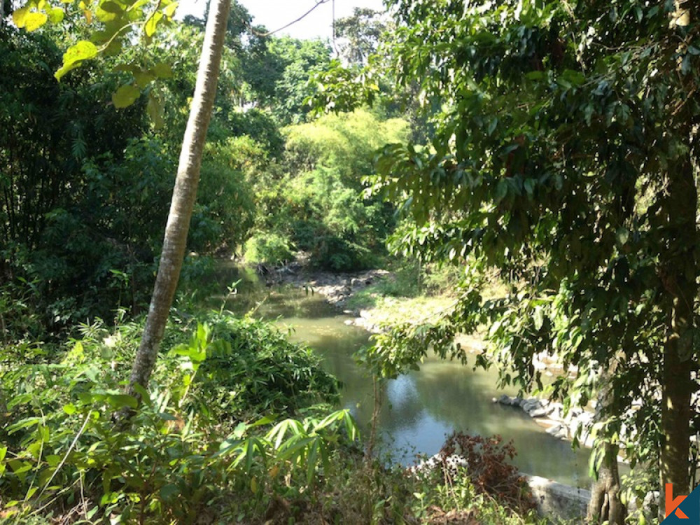 Rare Opportunity Riverside Land Overlooking Valley in Nyanyi for Sale