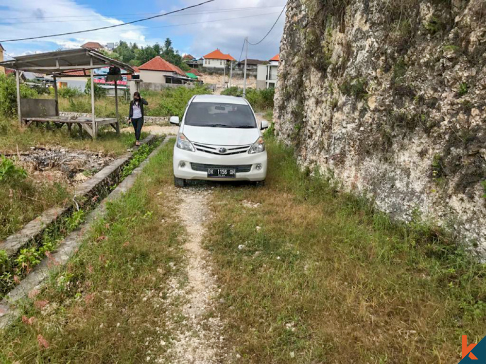 Perfect Freehold Land ready to Build for Sale in Jimbaran