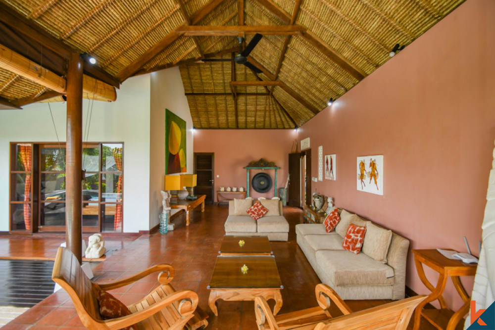Amazing Villa with Spacious land for Sale in Ungasan